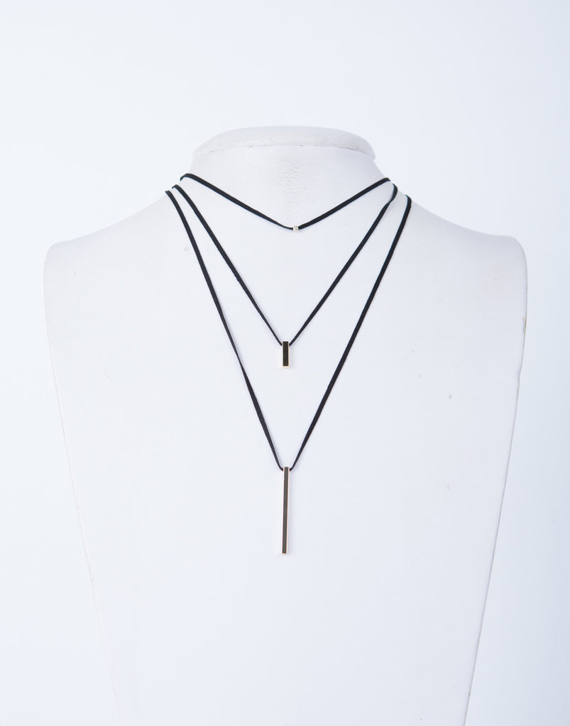 Mini Pendant Layered Necklace