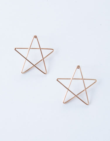 Mini Star Earrings