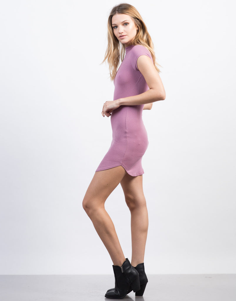 Mini Tee Bodycon Dress - 2020AVE