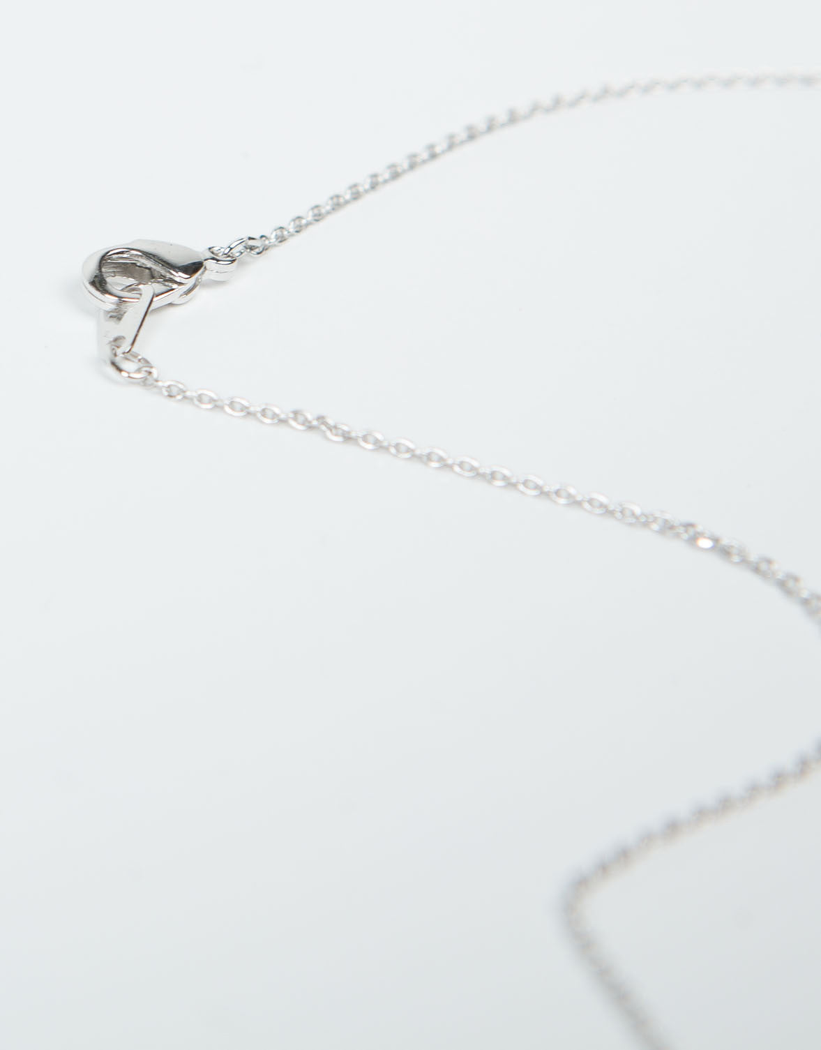 Detail of Mini Dino Pendant Necklace