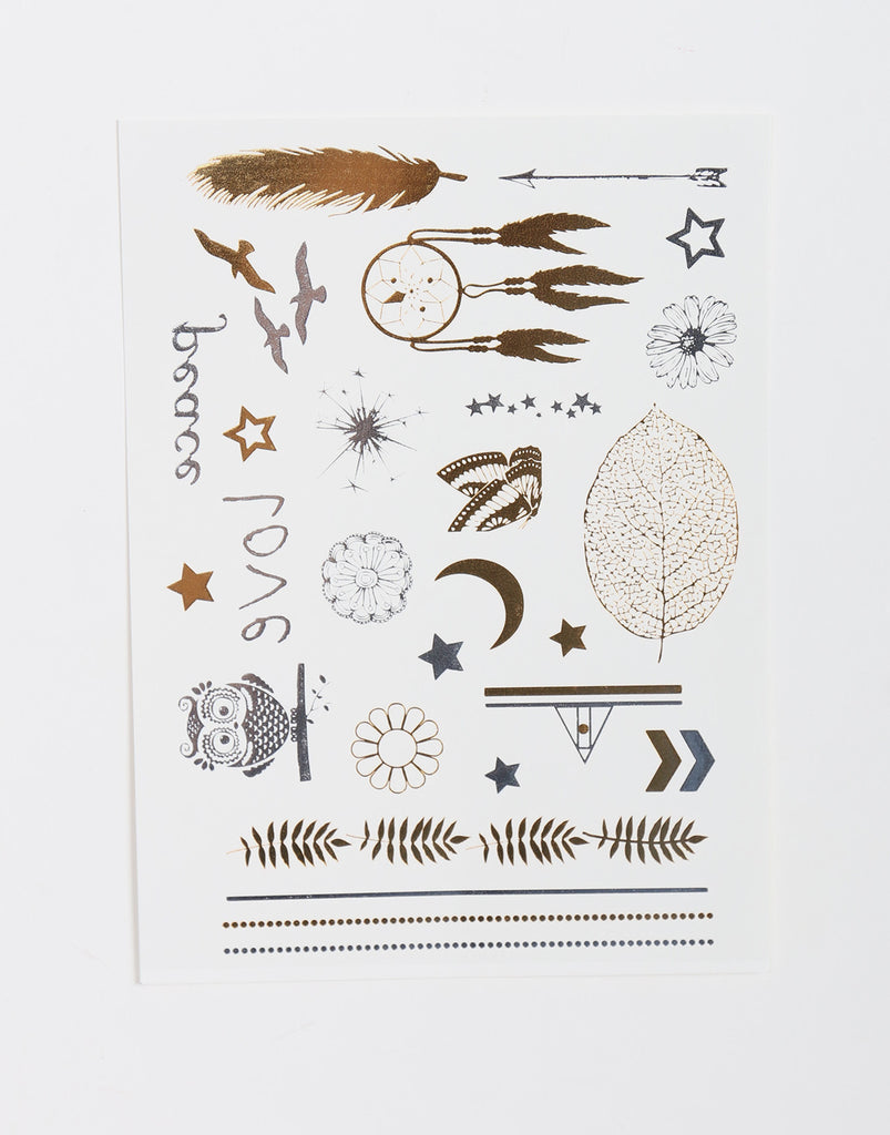 Mini Dream Catcher Temporary Tattoo - 2020AVE