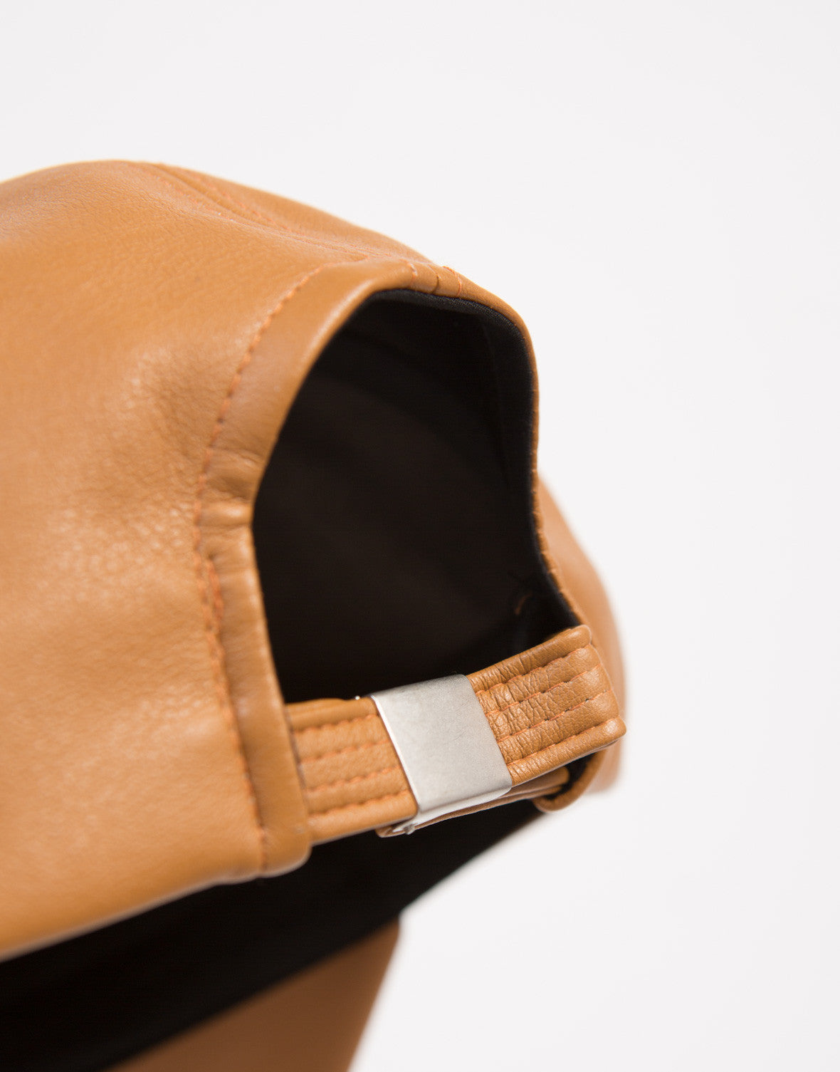 Minimal Leather Baseball Cap