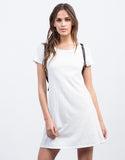 Front View of Minimalist Tee Dress