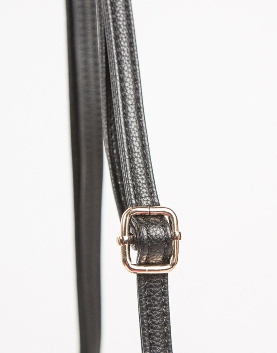 Detail of Mini Structured Crossbody Handbag
