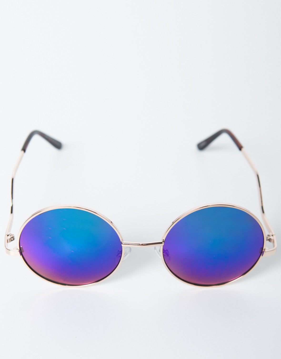 Mirrored Circle Sunnies - 2020AVE