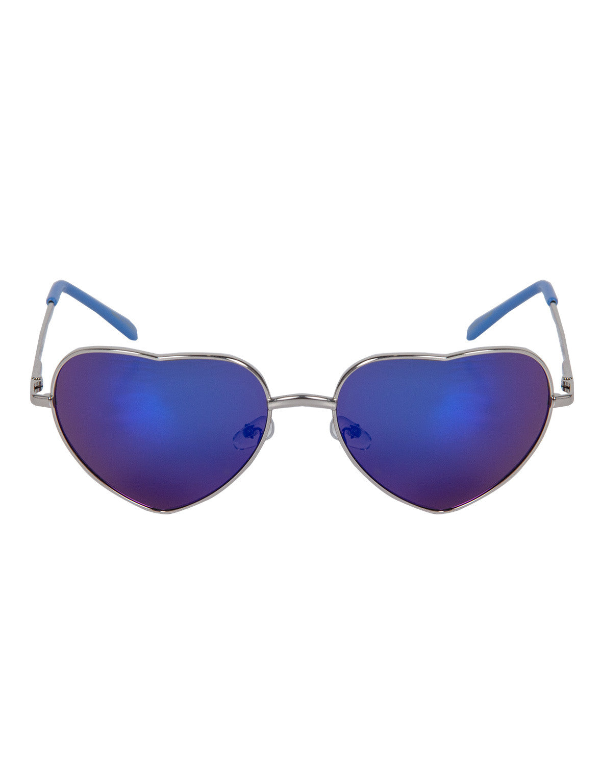 Mirrored Heart Shaped Sunnies (+ Colors)