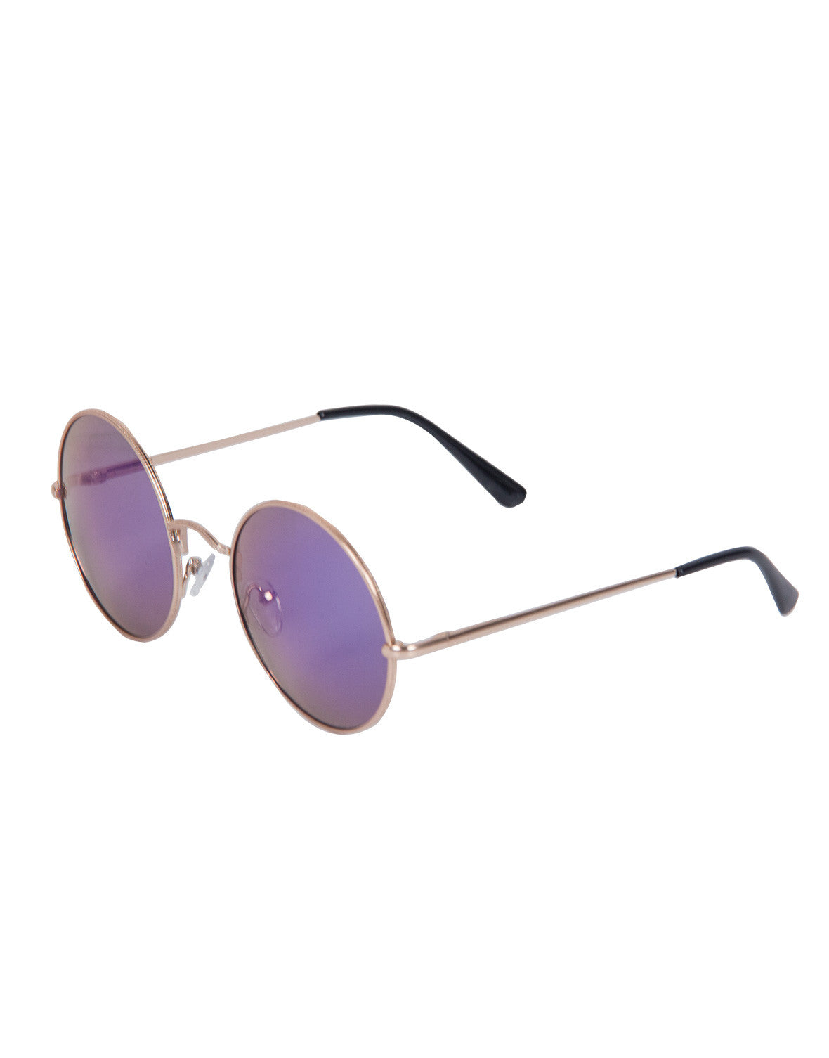 Mirrored Round Sunglasses