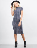 Mix Knit Midi Dress - 2020AVE