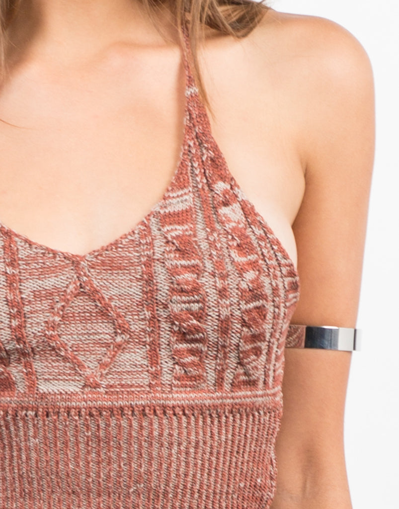Mix Knit Racerback Tank - 2020AVE