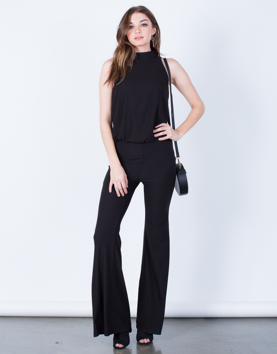Mock Neck Jumpsuit - 2020AVE