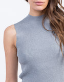 Detail of Mock Ribbed Top