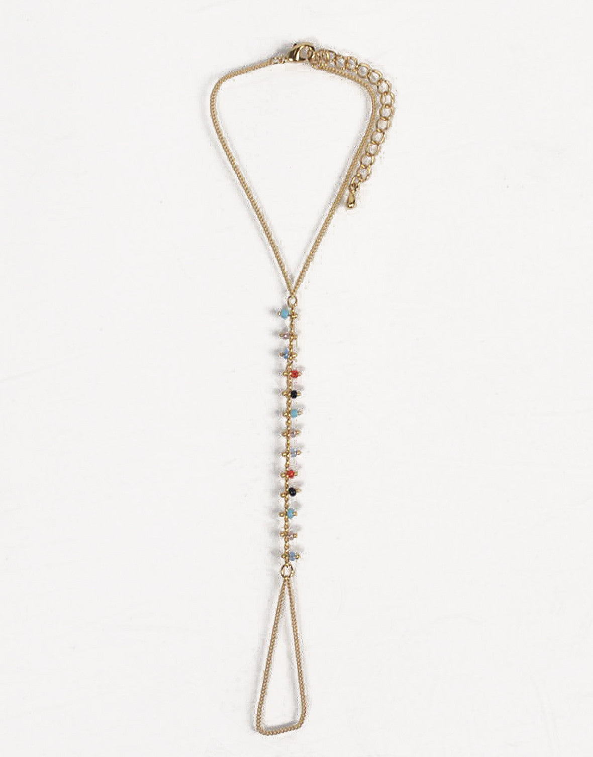Multi Beaded Hand Chain