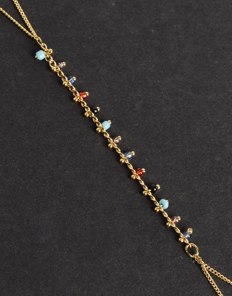 Multi Beaded Hand Chain - 2020AVE