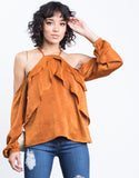 Nadia Ruffled Blouse - 2020AVE