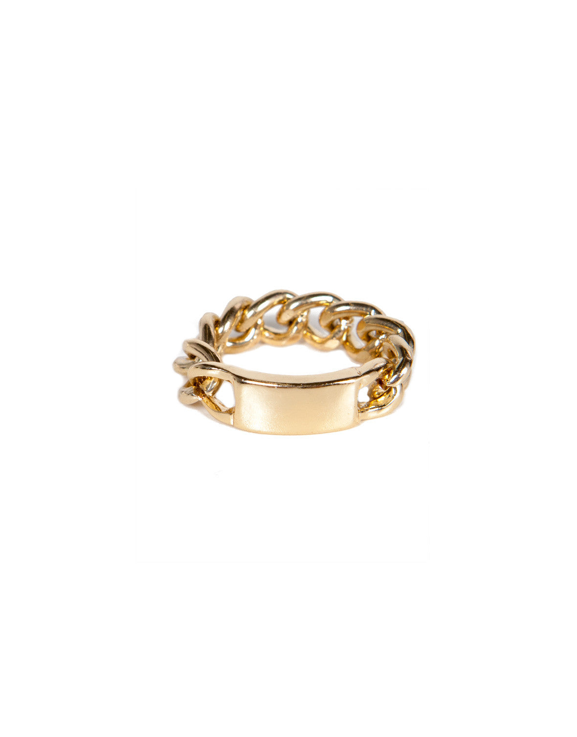 Name Chain Ring