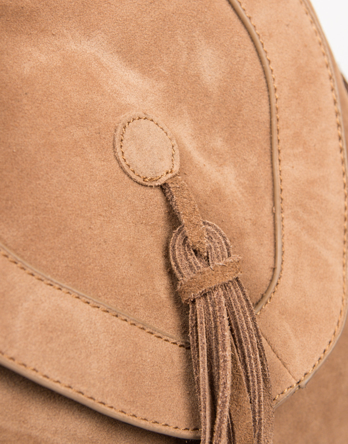 Detail of Native Fringed Backpack