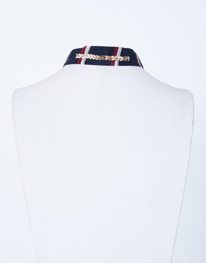 Nautical Striped Choker