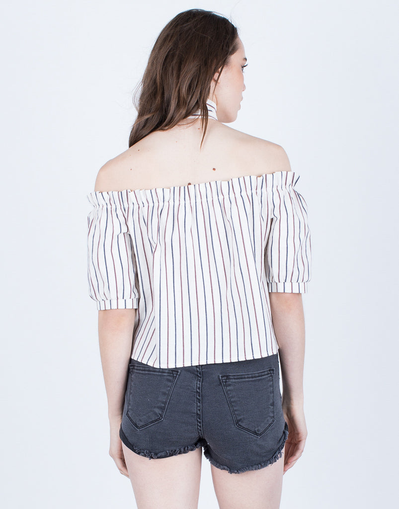 Neck Tied Linen Blouse - 2020AVE
