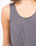 Detail of Netted Back Tank Top