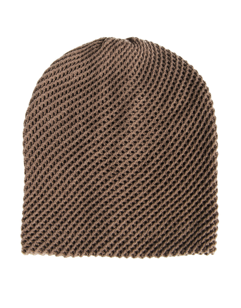 Netted Slouchy Beanie - 2020AVE
