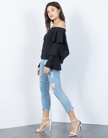 Next Level Ruffled Blouse - 2020AVE