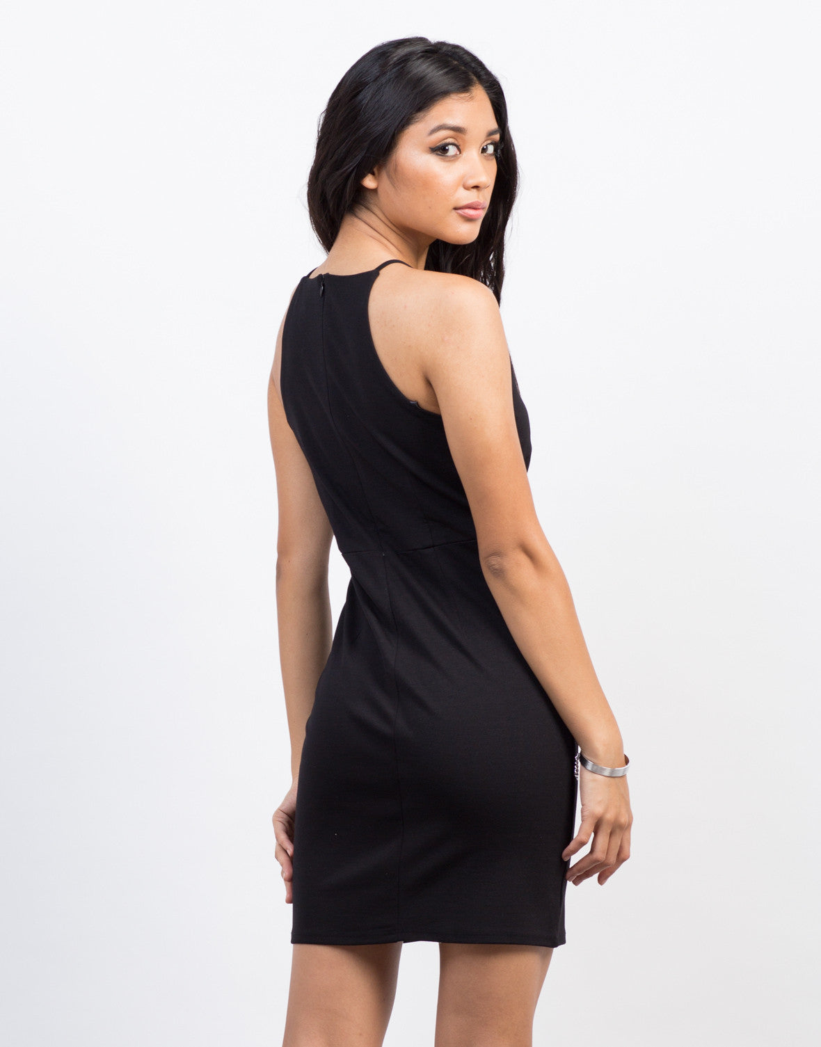 Back View of Night Out Bodycon Dress