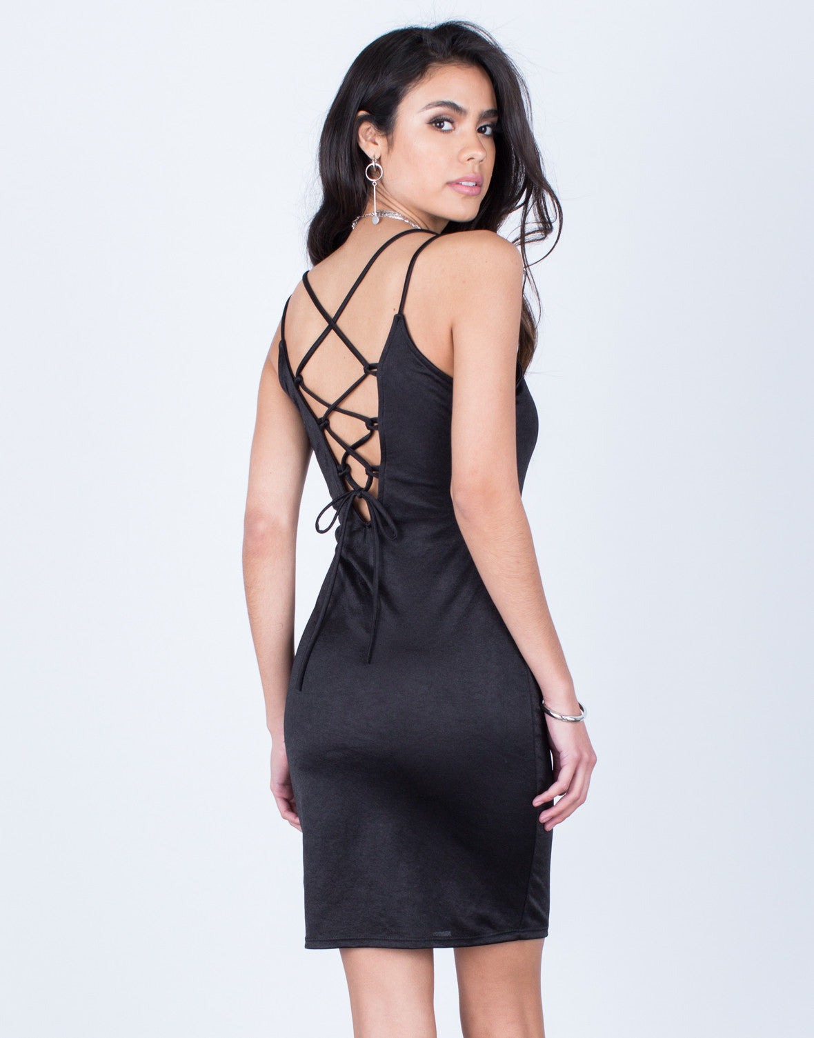 Night Owl Lace-Up Dress - 2020AVE