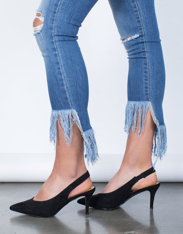 Nothing but Frayed Jeans
