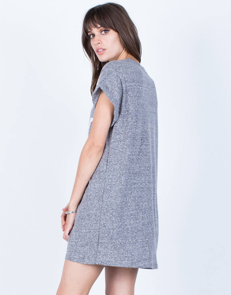 Back View of NYC Tunic Tee