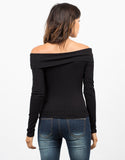 Back View of Off The Shoulder Top