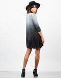 Back View of Ombre Swing Dress