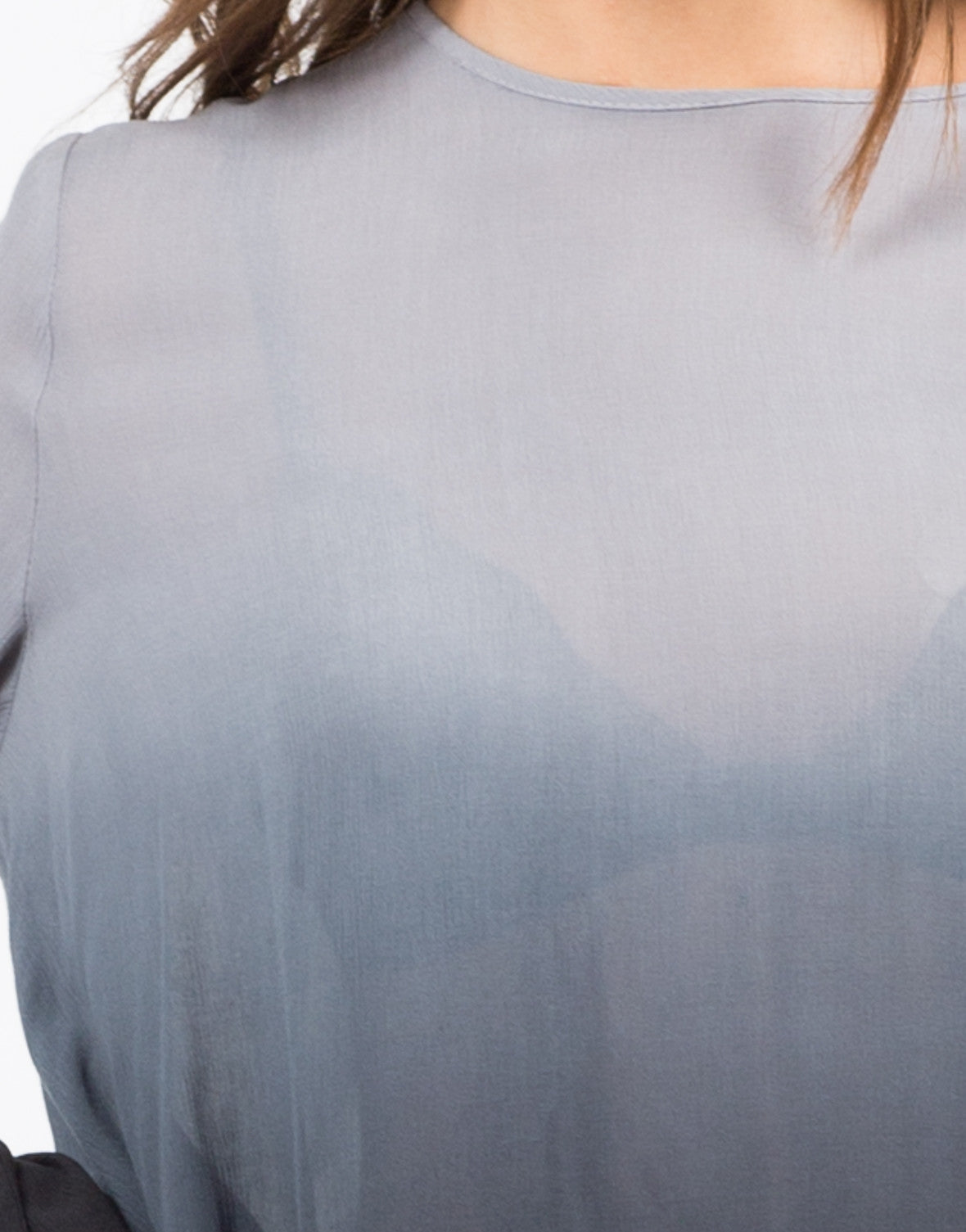 Detail of Ombre Tunic Blouse
