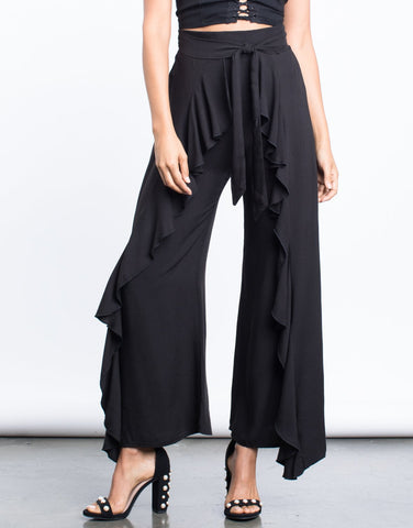 On Repeat Ruffled Pants - 2020AVE