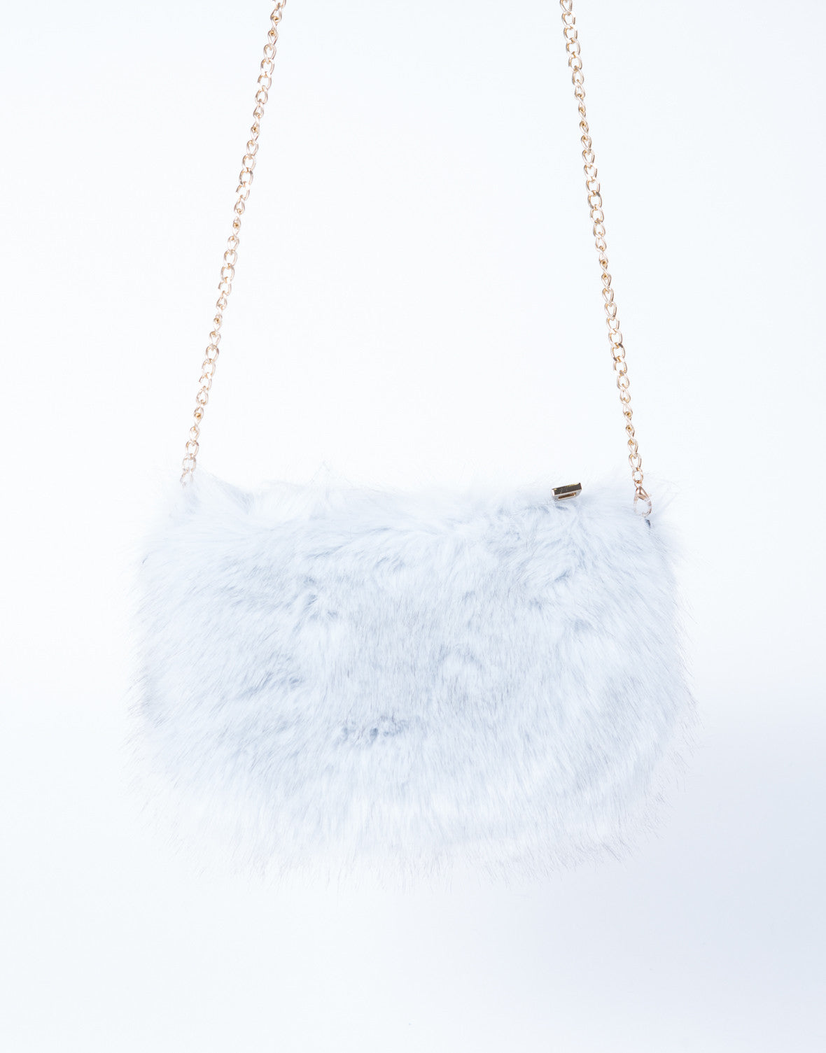 On the Go Fur Crossbody Pouch - 2020AVE