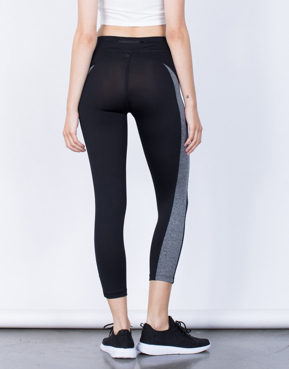 Back View of On the Run Leggings