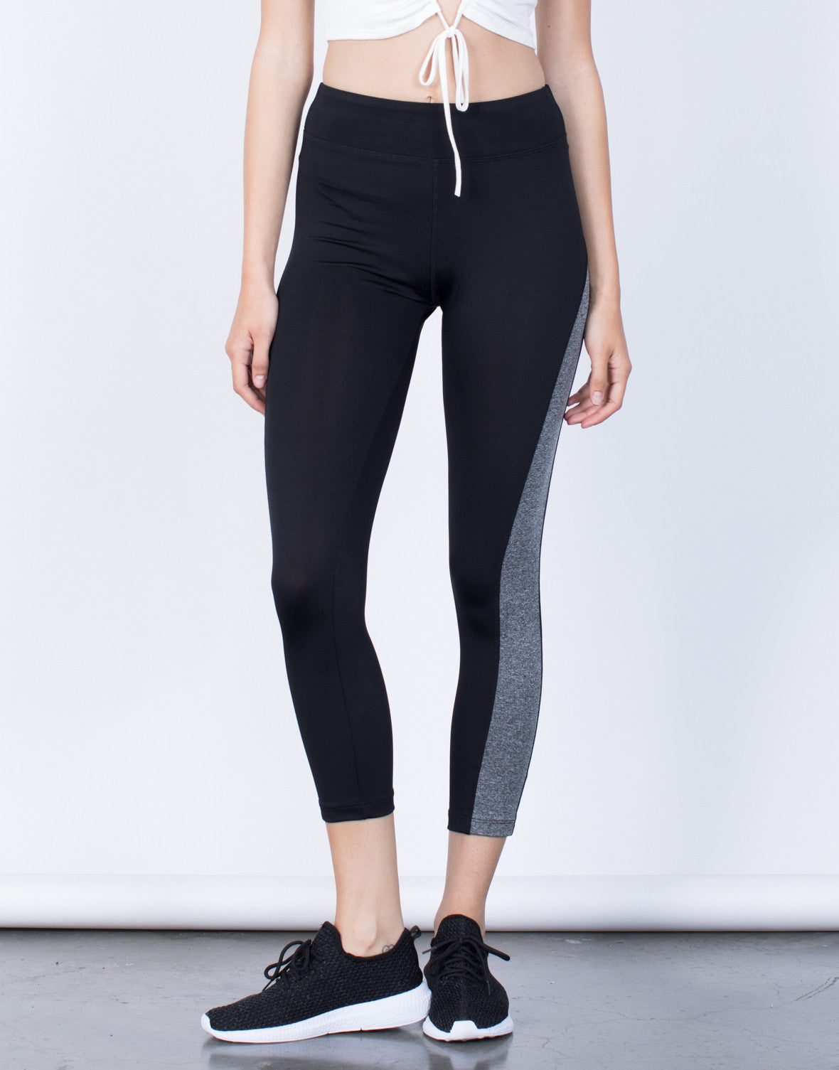 Front View of On the Run Leggings