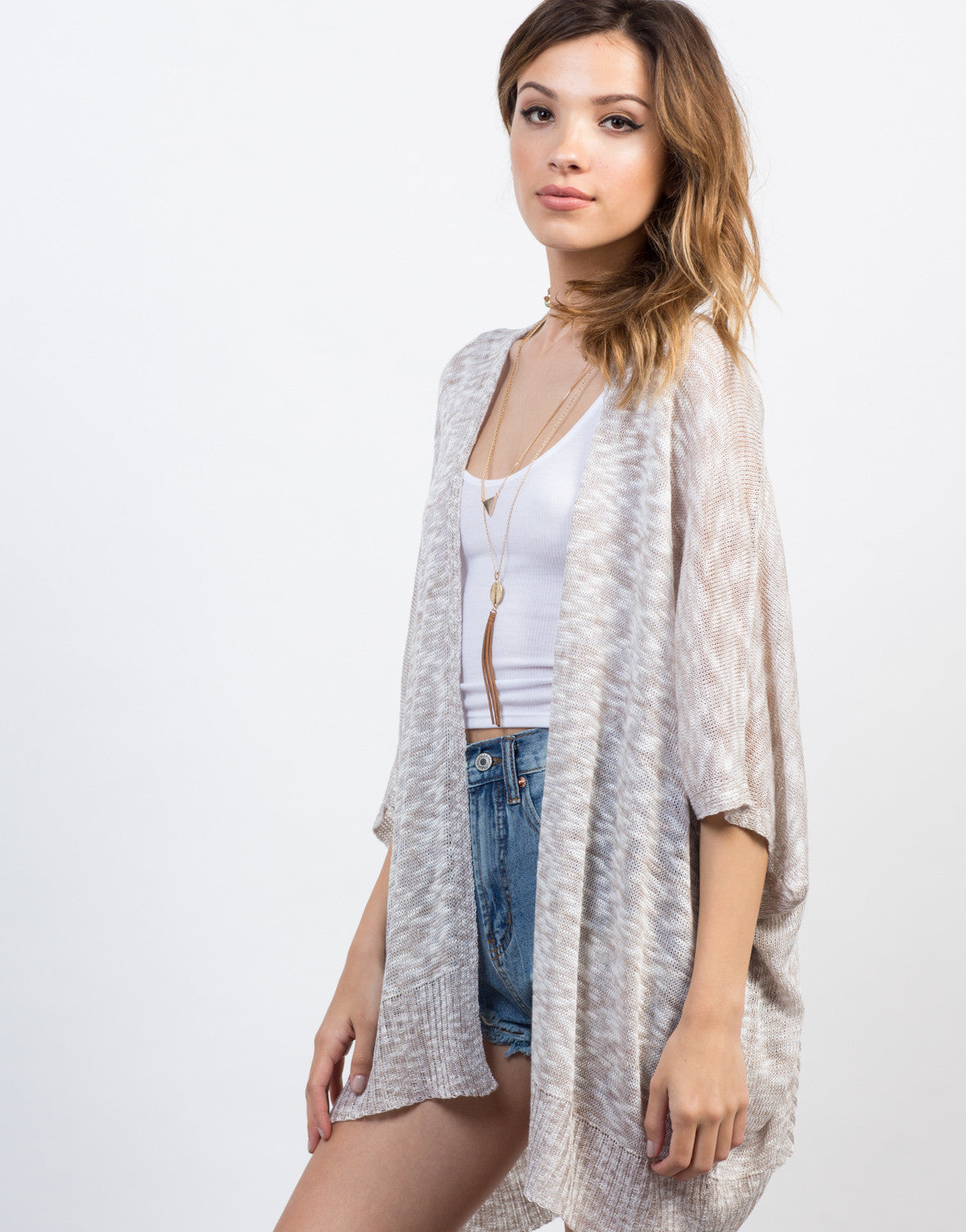 Open Knitted Cardigan - 2020AVE