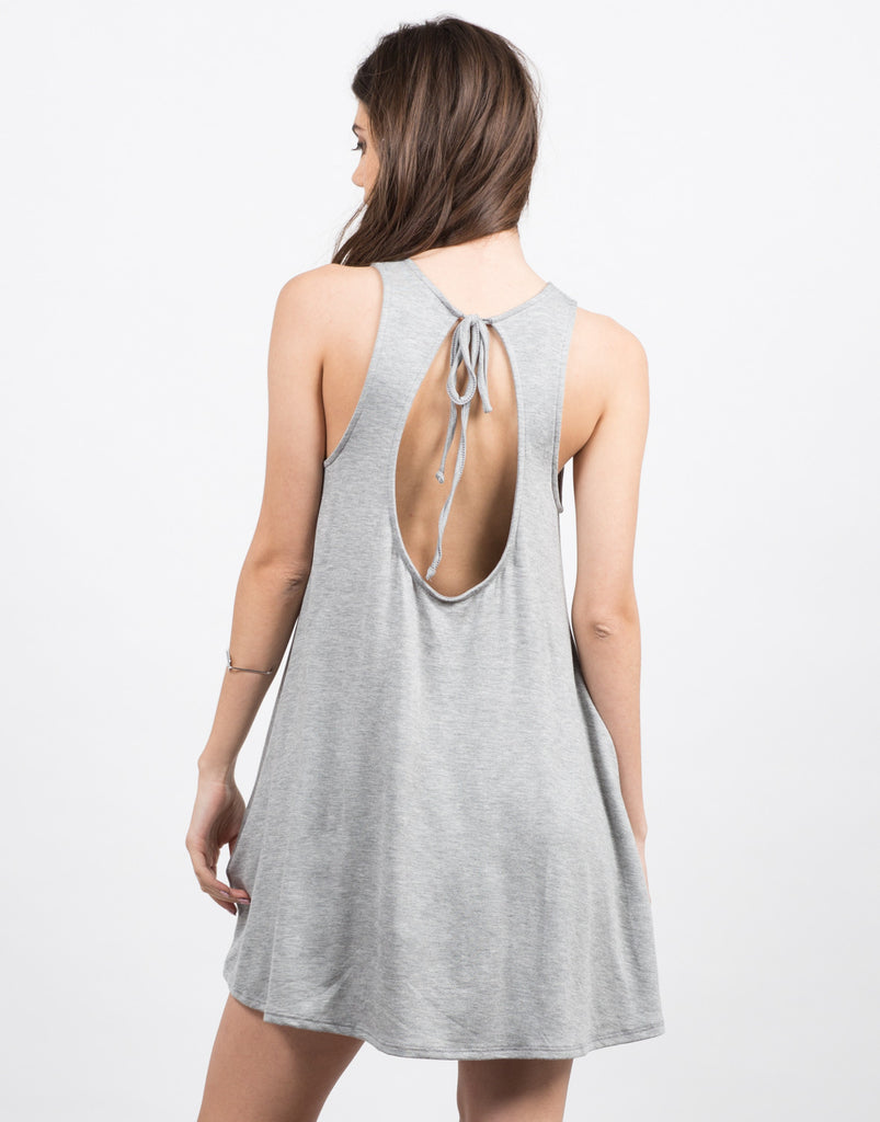 Open Back Tank Dress - 2020AVE