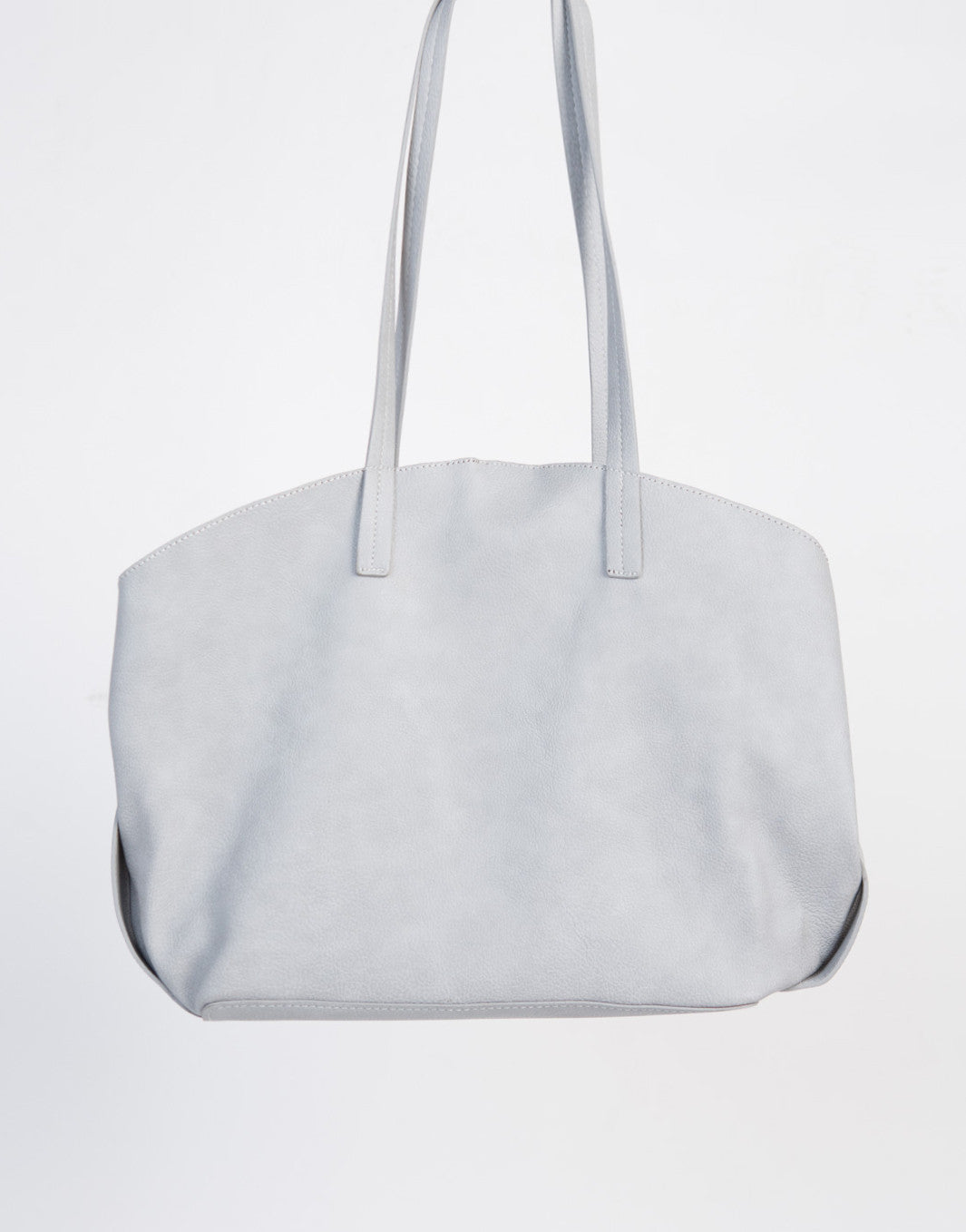 Oversized Leather Tote Bag - 2020AVE