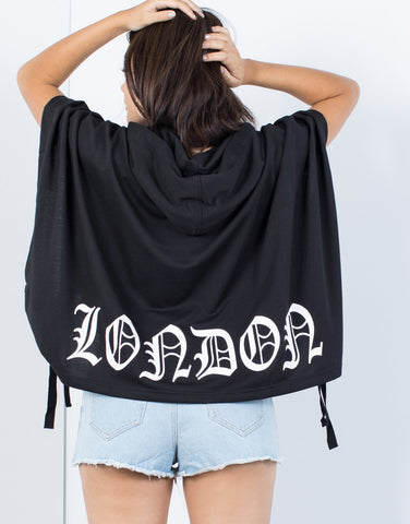Oversized London Hoodie - 2020AVE
