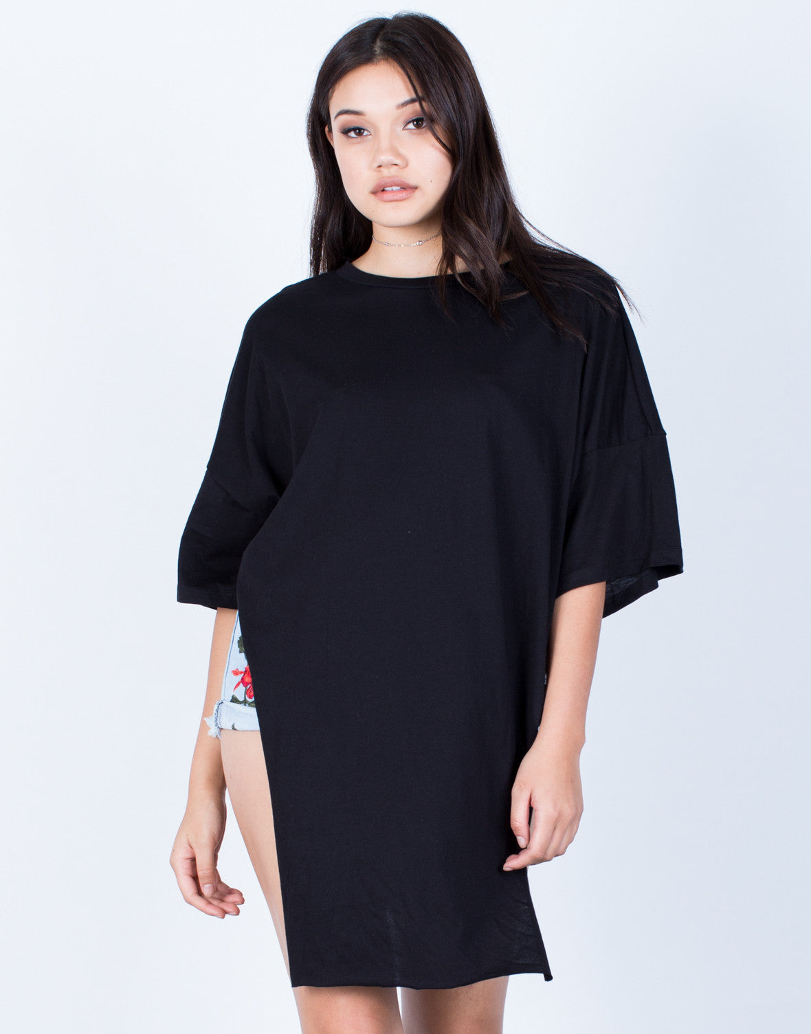 Oversized Side Slit Tunic