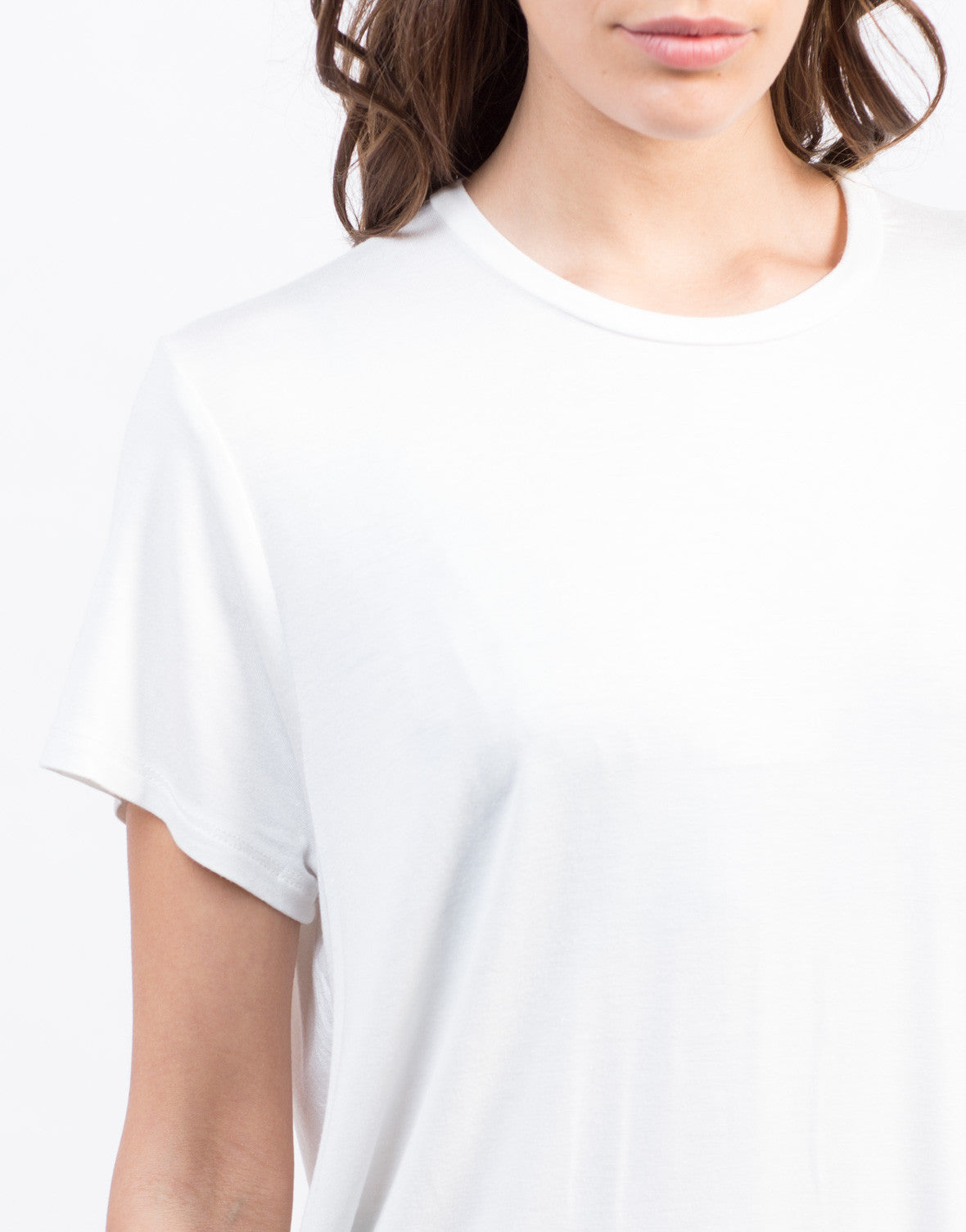 Detail of Ovesized Tunic Tee