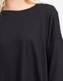 Detail of Oversized Batwing Tee