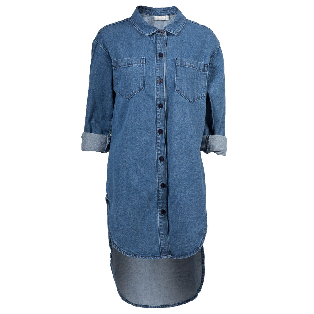 Oversized Denim Shirt - 2020AVE
