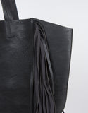 Oversized Fringe Tote Bag
