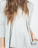 Detail of Oversized Jersey Top