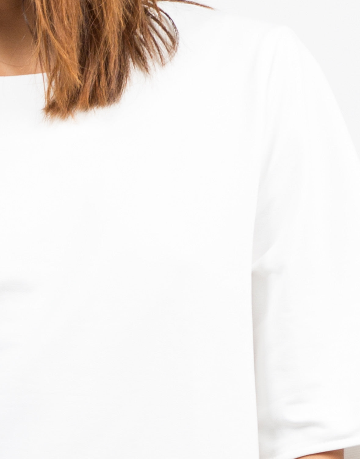 Detail of Oversized Shift Dress