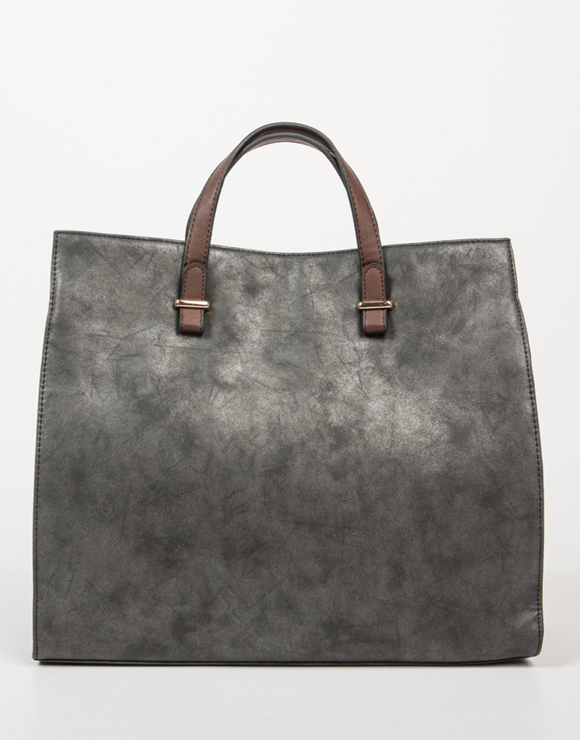 Front View of Oversized Shopper Tote Bag