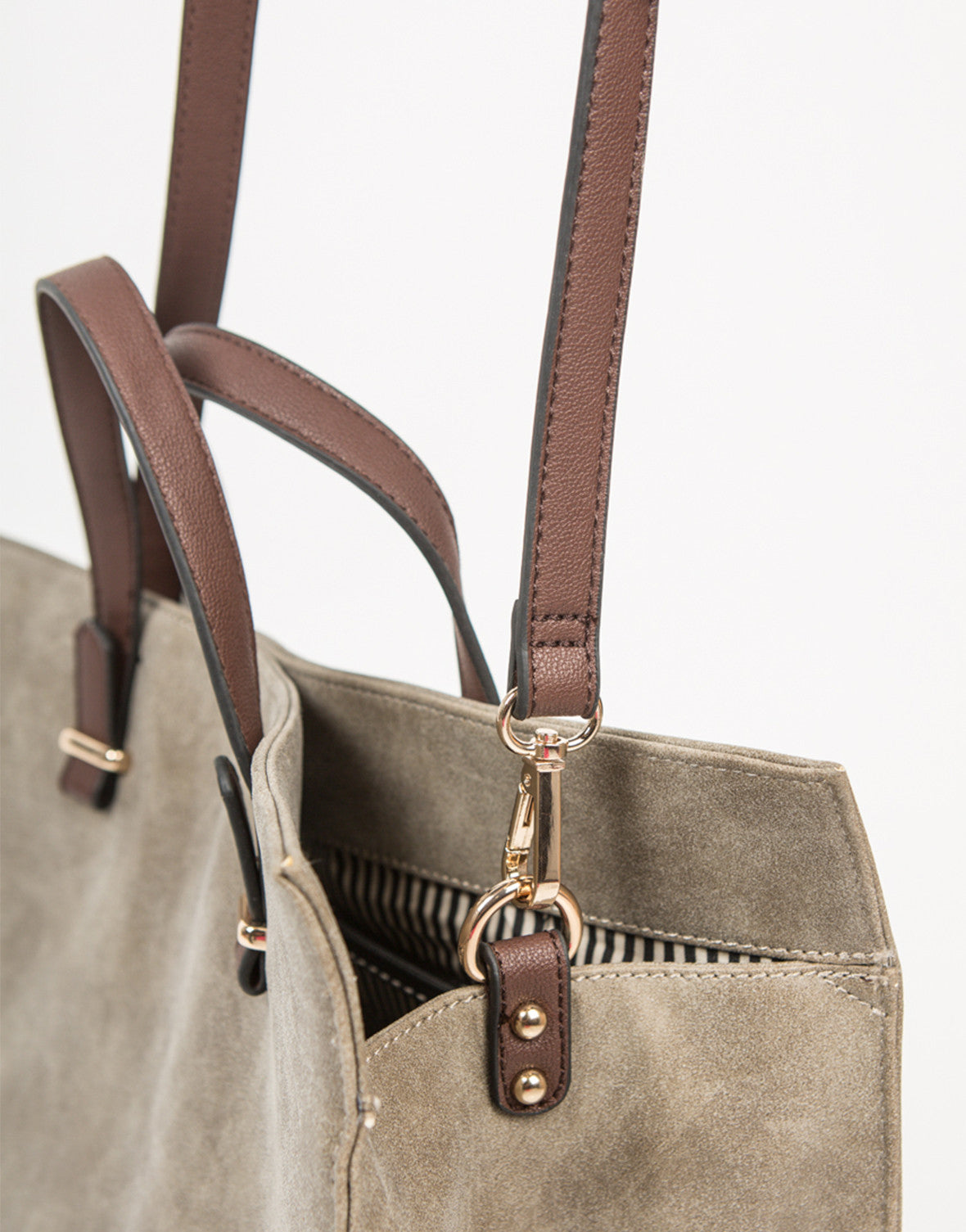 Detail of Oversized Shopper Tote Bag