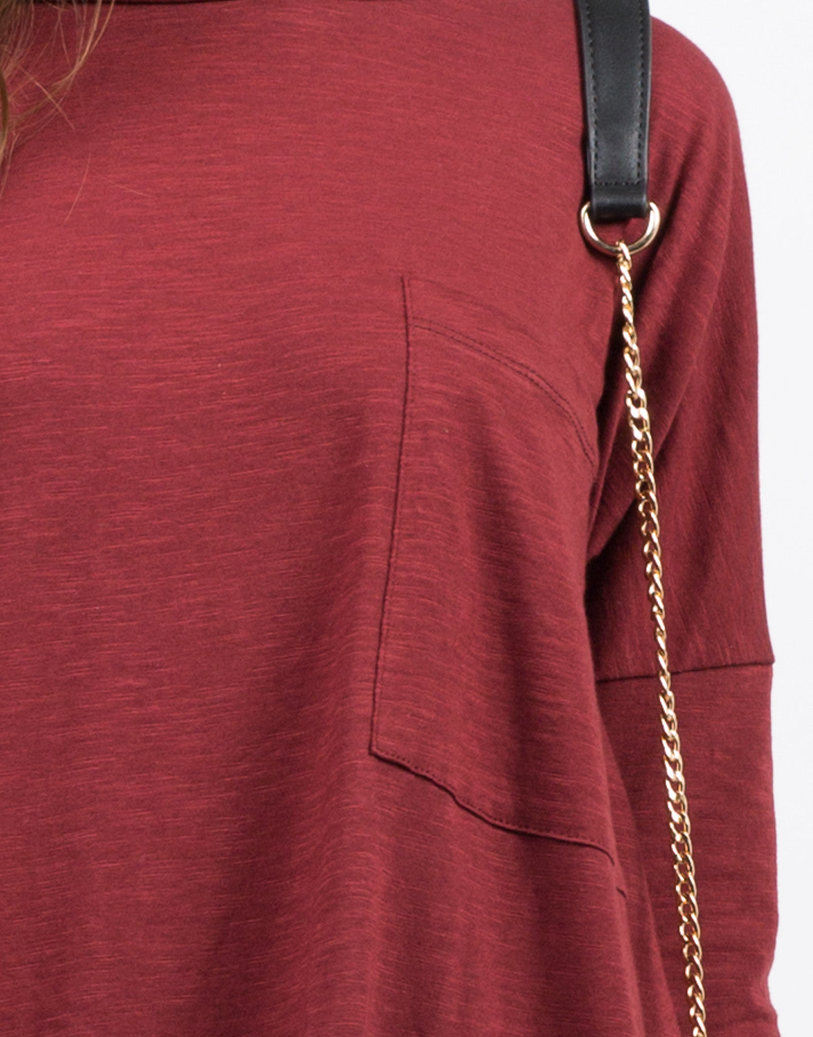 Detail of Oversized T-Shirt Dress
